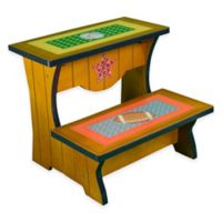 Teamson Fantasy Fields Lil' Sports Fan Step Stool with Storage