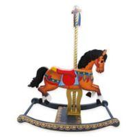Teamson Kids Carousel-Style Rocking Horse