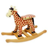 Teamson Kids Toddler Giraffe Rocking Horse