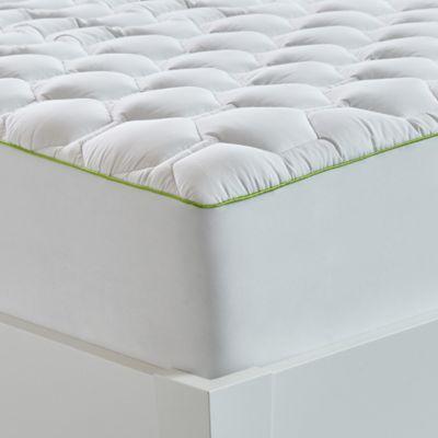 bedgear 40 hypercotton performance twin mattress pad in white