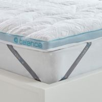 Bedgear™ Balance Boost® 2-Inch Full Mattress Topper in White