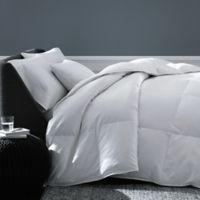 The Seasons Collection® Year Round Warmth Down Twin Comforter with Damask Stripe