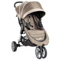Baby Jogger® City Mini® 3-Wheel Single Stroller in Sand/Stone