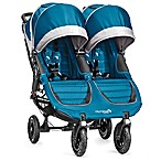 Baby Jogger® City Mini® GT Double Stroller in Teal/Grey