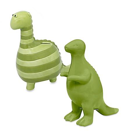 Argento ceramic dinosaur bank bed bath beyond - Dinosaur piggy banks ...