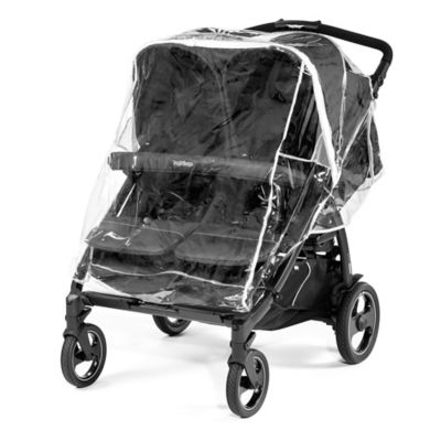 Peg Perego Book for Two Double Stroller in Onyx u003e Peg Perego Rain Cover for Book  sc 1 st  buybuy BABY & Rain Cover for Stroller from Buy Buy Baby