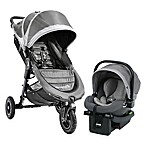 Baby Jogger® City Mini GT Travel System in Steel Grey
