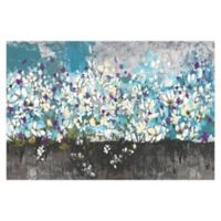Nature's Cool Bouquet 36-Inch x 24-Inch Canvas Wall Art