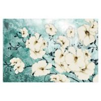 Minted Floral 48-Inch x 32-Inch Canvas Wall Art