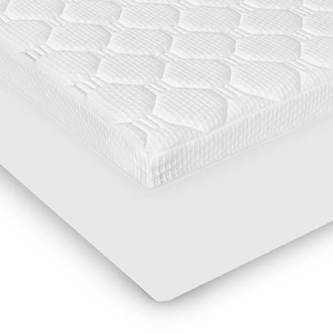 Therapedic 3 5 Inch Micro Coil Mattress Topper in White