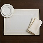 Wamsutta® Collection Chatham Placemat in Butter Cream
