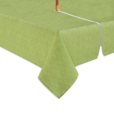 Exceptional Mason 60 Inch X 84 Inch Oval Tablecloth In Fern
