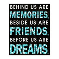 Friends Beside Us 16-Inch x 20-Inch Canvas Wall Art
