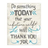 Do Something 16-Inch x 20-Inch Canvas Wall Art