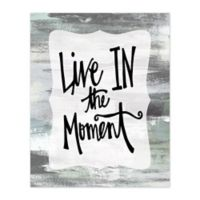 """""""In The Moment"""" 8-Inch x 10-Inch Canvas Wall Art"""