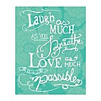 Pied Piper Creative 8-Inch x 10-Inch Love Much Canvas Wall Art