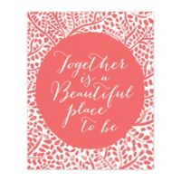 Pied Piper Creative Beautiful Place to Be 8-Inch x 10-Inch Canvas Wall Art