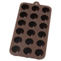 Mrs. Anderson's Baking® Nonstick 10-Inch x 4.12-Inch Silicone Truffle Chocolate Mold in Brown