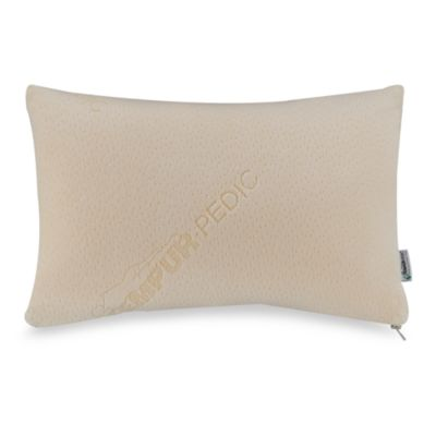 buy tempur pedic pillow from bed bath beyond. Black Bedroom Furniture Sets. Home Design Ideas
