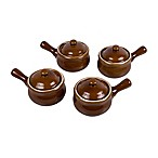 French Onion Soup Crocks with Lids (Set of 4)