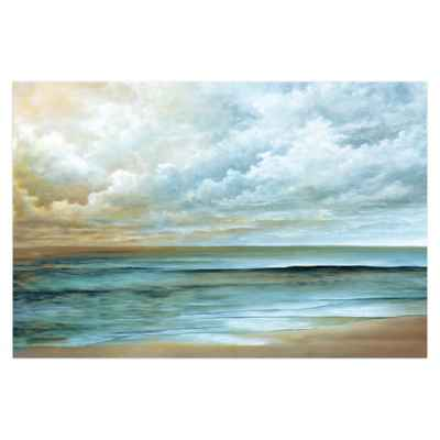Away At Sea Canvas Wall Art