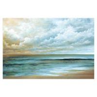Away At Sea 36-Inch x 24-Inch Canvas Wall Art