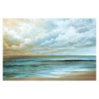 Away At Sea 48-Inch x 32-Inch Canvas Wall Art