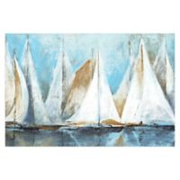 Sail Away 48-Inch x 32-Inch Canvas Wall Art