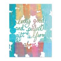 A Perfect Gift 16-Inch x 20-Inch Canvas Wall Art
