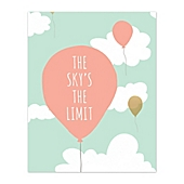 pied piper creative 16inch x 20inch skyu0027s the limit canvas wall art
