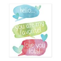 Pied Piper Creative 8-Inch x 10-Inch Sweet Conversation Canvas Wall Art