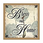 Home Blessing 16-Inch x 16-Inch Canvas Wall Art