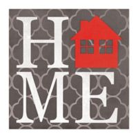House A Home 20-Inch x 20-Inch Canvas Wall Art