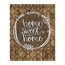 "Home Sweet Home Wall Art home sweet home"" canvas wall art - bed bath & beyond"