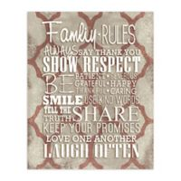 Family Matters 8-Inch x 10-Inch Canvas Wall Art
