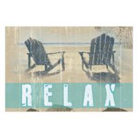 Pied Piper Creative Sit Back and Relax Canvas Wall Art
