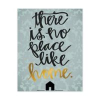 """There is No Place like Home"" Canvas Wall Art"