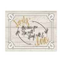 "Pied Piper Creative Collection ""Family Love"" Canvas Wall Art"