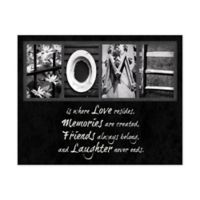 Love Resides Canvas Wall Art