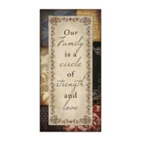 Our Family Strength Canvas Wall Art