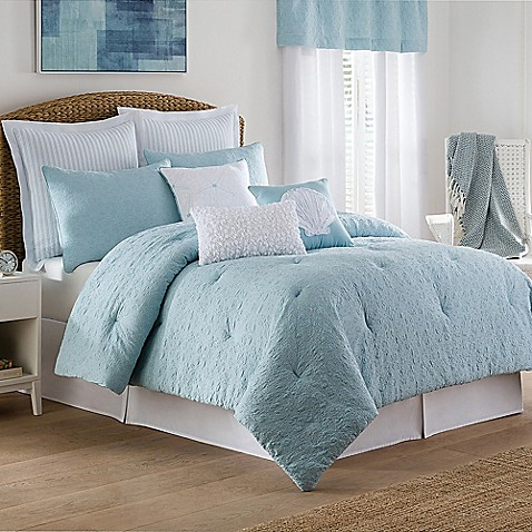 Coastal life luxe sonoma comforter set bed bath beyond - Lit king size 200x200 ...