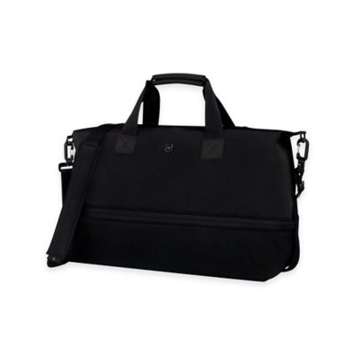 Buy victorinox luggage from bed bath beyond victorinox werks 50 carry all tote with drop down expansion in black colourmoves Gallery