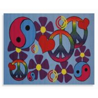 Fun Rugs® Lovely Peace 1-Foot 7-Inch x 2-Foot 5-Inch Accent Rug