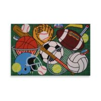 Fun Rugs™ Let's Play 1-Foot 7-Inch x 2-Foot 5-Inch Area Rug in Green