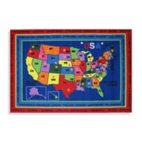 Fun Rugs 8-Foot x 11-Foot State Capital Rug