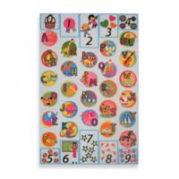 "Fun Rugs® ""I Know My ABCs"" 3-Foot x 4-Foot Accent Rug"