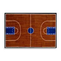 Fun Rugs® Basketball Court 3-Foot x 4-Foot Accent Rug