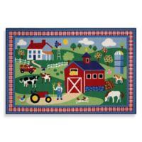 Fun Rugs™ Country Farm 3-Foot 3-Inch x 4-Foot 10-Inch Rug
