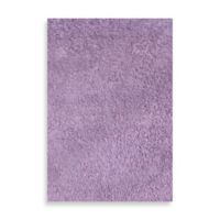 Fun Rugs™ 3-Foot 3-Inch x 4-Foot 10-Inch Chenille Cotton Shag Area Rug in Lavender