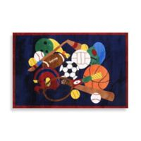 Fun Rugs® Sports America 2-Foot 7-Inch x 3-Foot 11-Inch Accent Rug